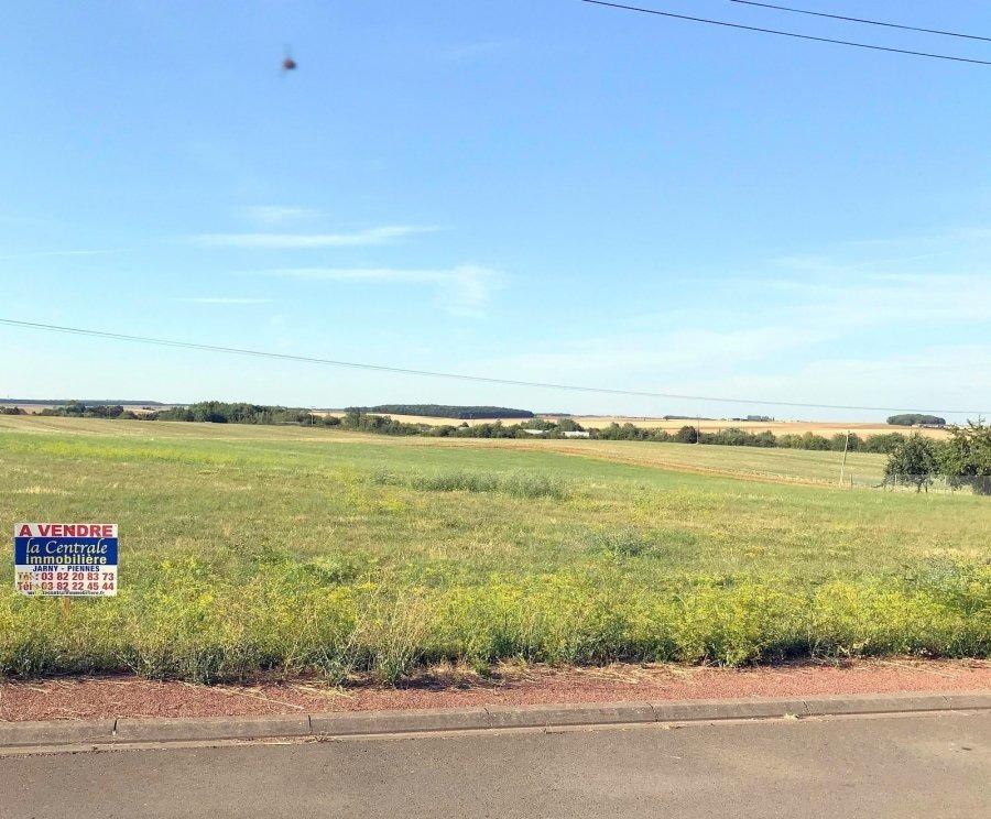 Terrain constructible à vendre à Dommary-Baroncourt
