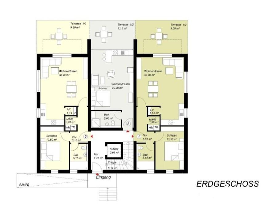 wohnung kaufen 1 zimmer 42.75 m² leiwen foto 2
