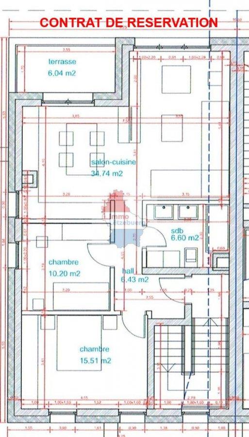 apartment for buy 2 bedrooms 73.46 m² hosingen photo 1