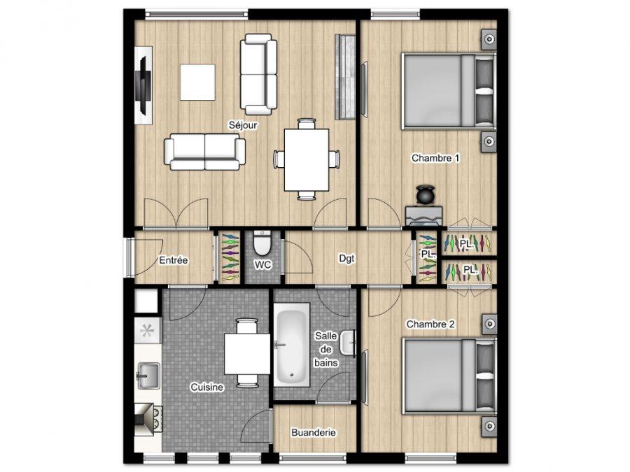 acheter appartement 3 pièces 58.38 m² talange photo 7