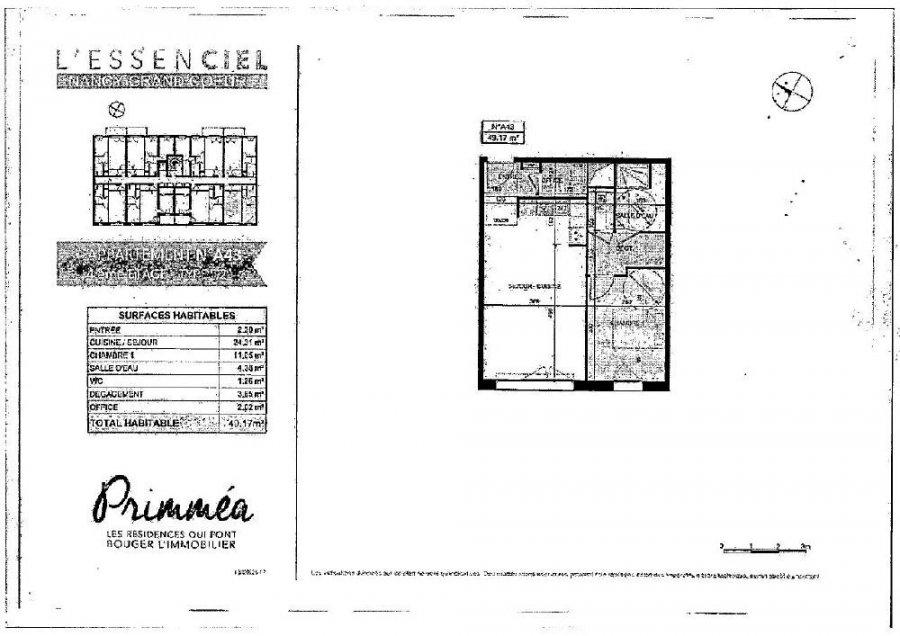 louer appartement 2 pièces 49.19 m² nancy photo 2