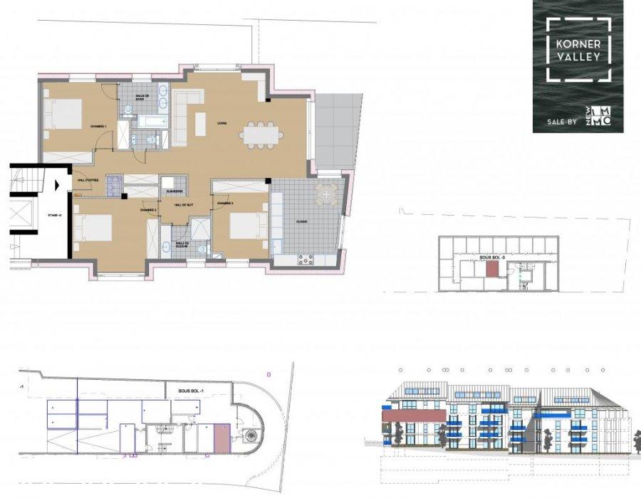 wohnung kaufen 3 schlafzimmer 125.61 m² luxembourg foto 4