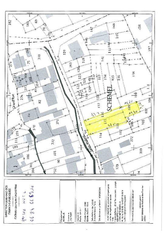 acheter terrain constructible 0 pièce 696 m² distroff photo 2