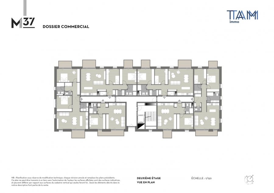 acheter appartement 1 chambre 47.71 m² luxembourg photo 3
