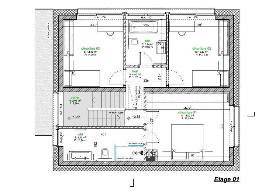 acheter maison mitoyenne 3 chambres 141 m² berbourg photo 6