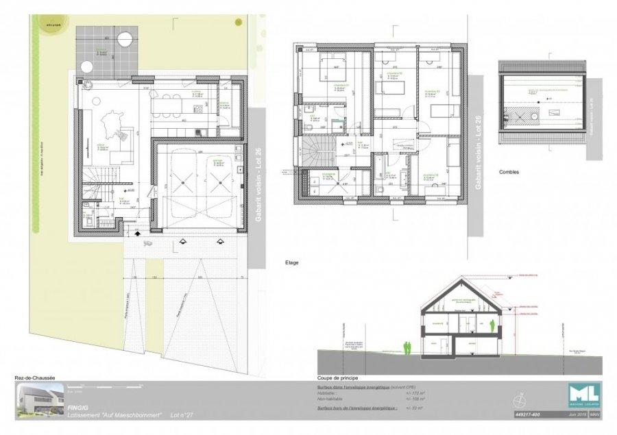 acheter maison individuelle 4 chambres 278 m² fingig photo 4