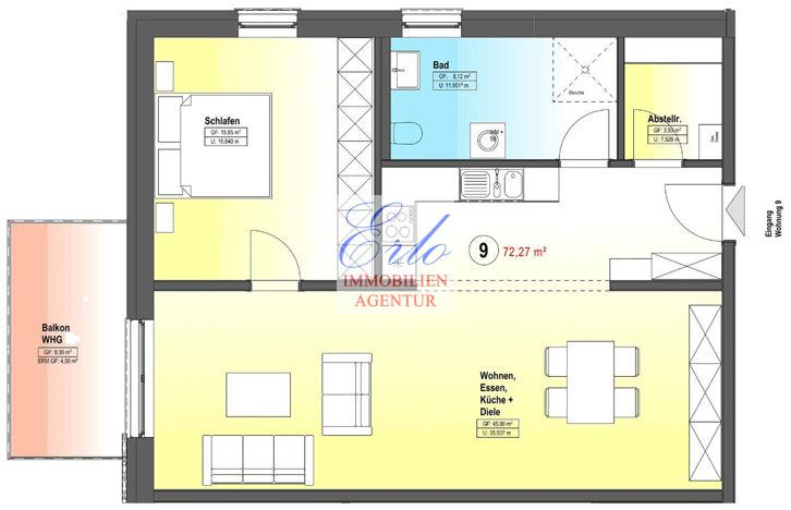 acheter appartement 2 pièces 76.27 m² zerf photo 2