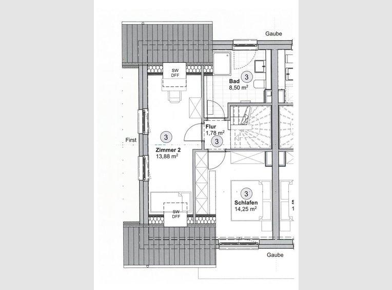 Duplex à vendre 3 Pièces à Trier (DE) - Réf. 7259414