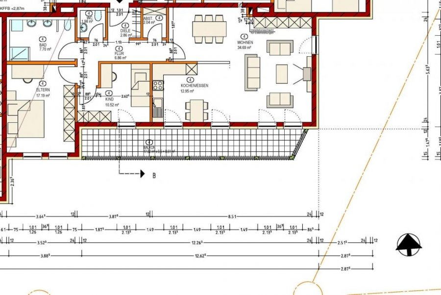 wohnung kaufen 0 zimmer 106 m² echternacherbrück foto 2