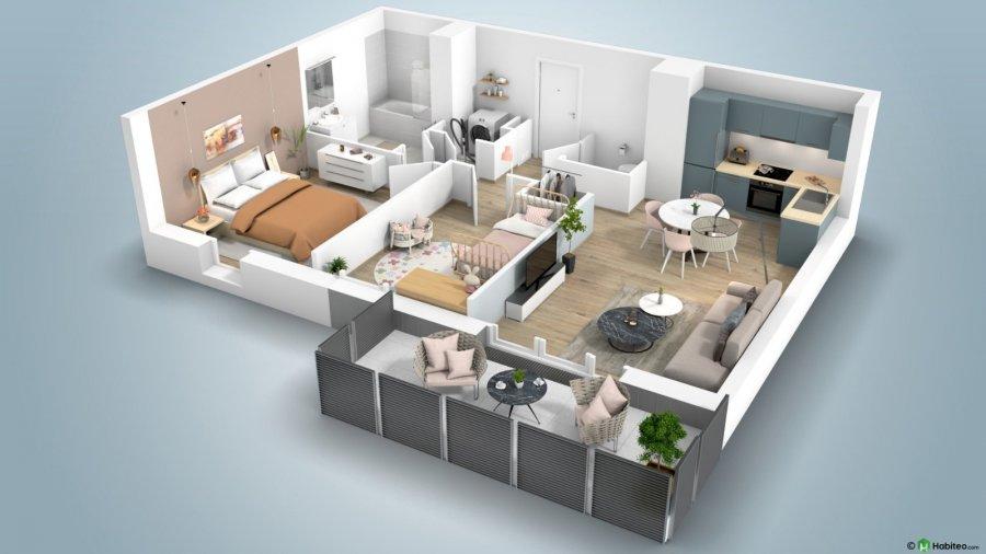 acheter appartement 2 pièces 44 m² thionville photo 2