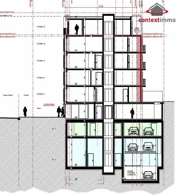 wohnung kaufen 1 schlafzimmer 44.71 m² luxembourg foto 3