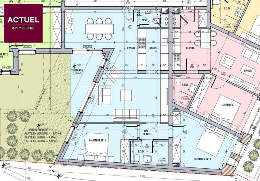 acheter appartement 2 chambres 86.83 m² esch-sur-alzette photo 2