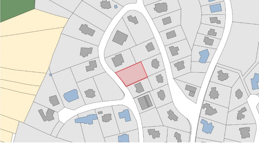 Terrain constructible à vendre à Steinsel
