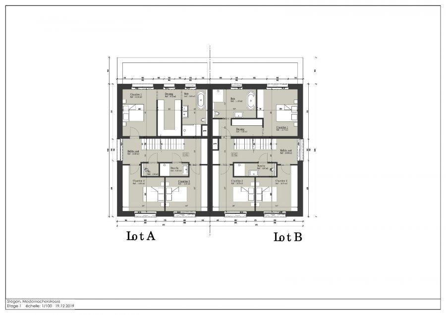 acheter maison jumelée 3 chambres 180 m² stegen photo 4