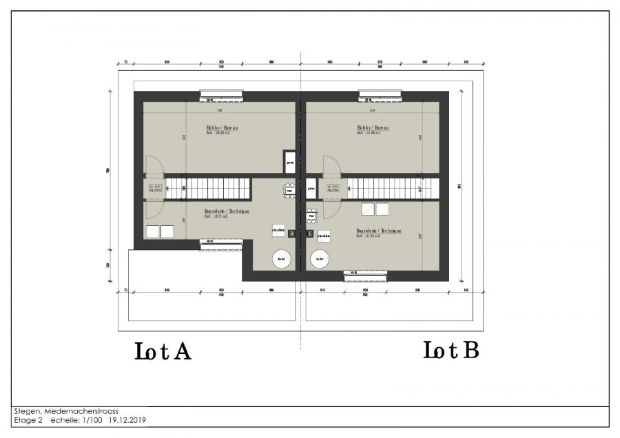 acheter maison jumelée 3 chambres 180 m² stegen photo 5