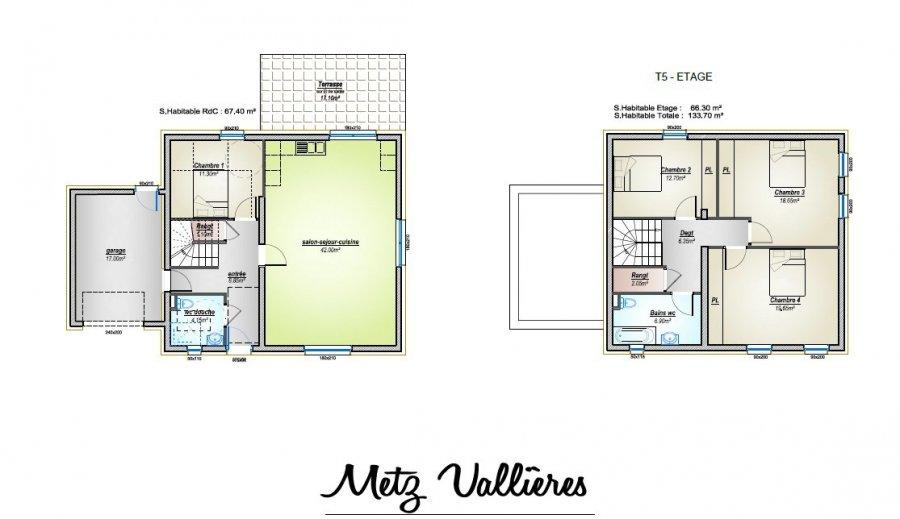 acheter maison 5 pièces 133.7 m² metz photo 3