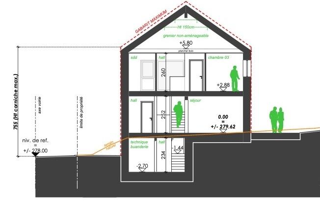 acheter maison mitoyenne 3 chambres 141 m² berbourg photo 7