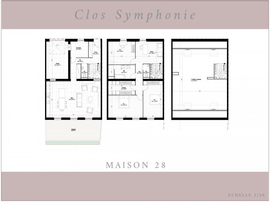 acheter maison 5 pièces 164.1 m² terville photo 5