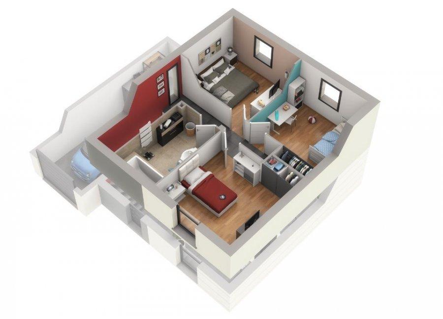 acheter maison 1 pièce 90 m² courcelles-chaussy photo 7