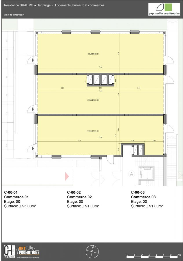 acheter local commercial 0 chambre 95.23 m² bertrange photo 3