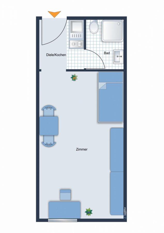 wohnung mieten 1 zimmer 21 m² saarbrücken foto 1