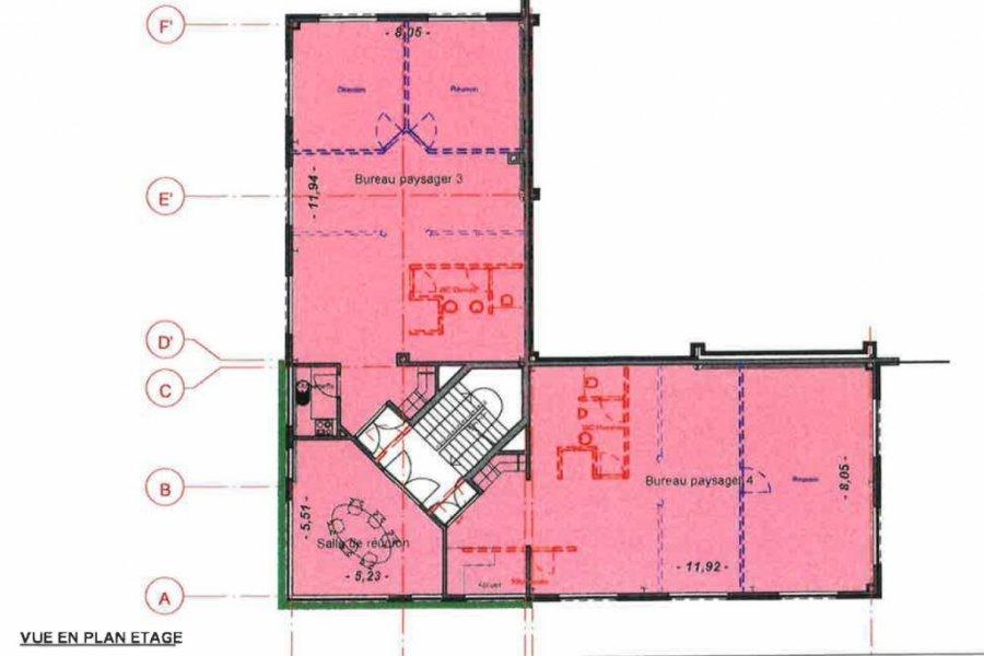 louer bureau 0 chambre 130.1 m² bascharage photo 4