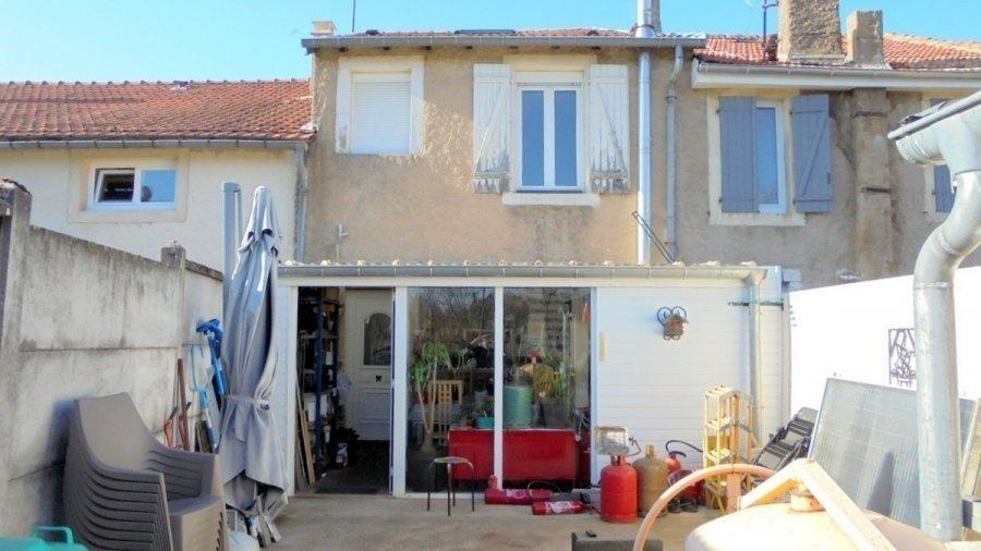 Maison mitoyenne à vendre F5 à Mars-la-Tour