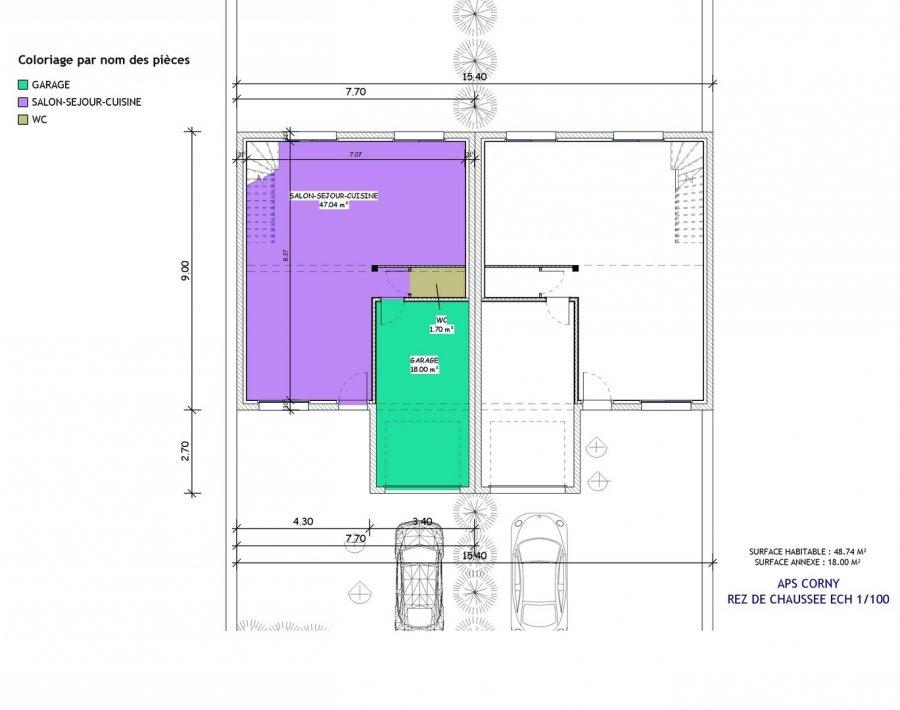 acheter maison 5 pièces 102 m² corny-sur-moselle photo 4