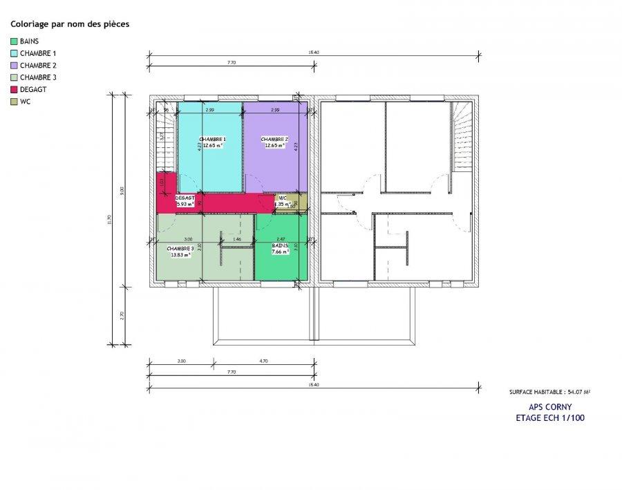 acheter maison 5 pièces 102 m² corny-sur-moselle photo 5