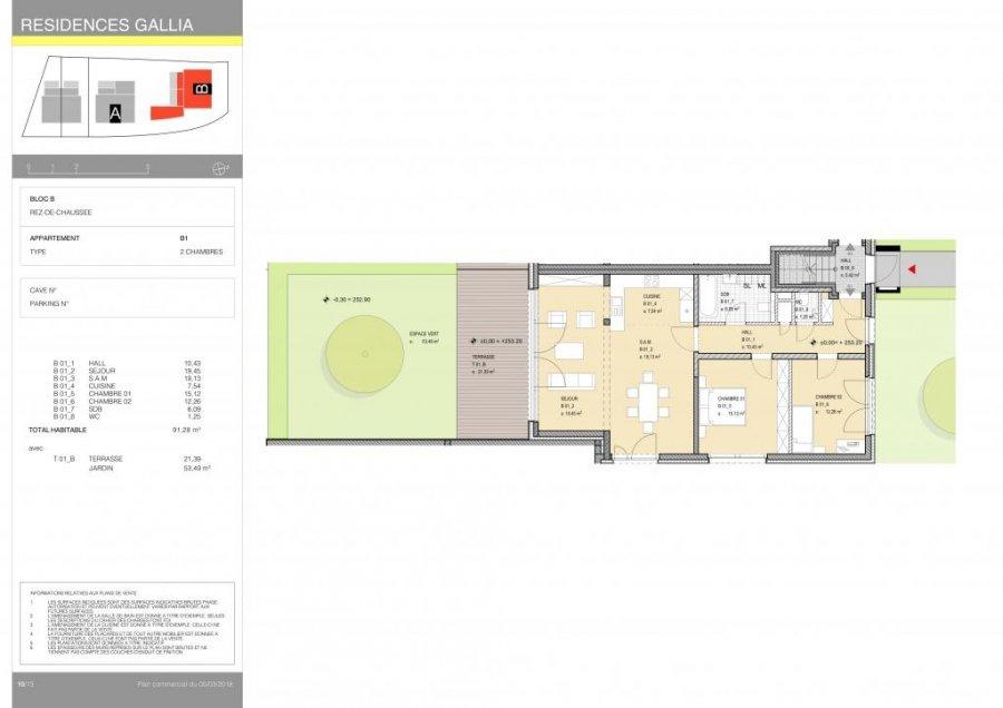 acheter appartement 2 chambres 94.24 m² niederanven photo 4