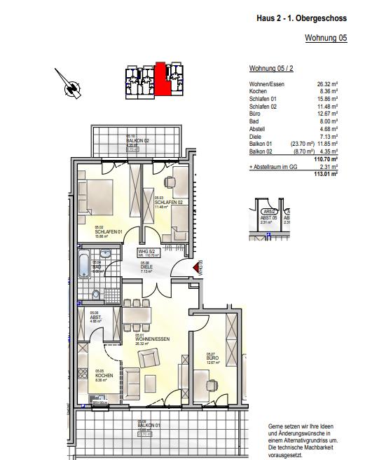 wohnung kaufen 0 zimmer 110.7 m² palzem foto 4