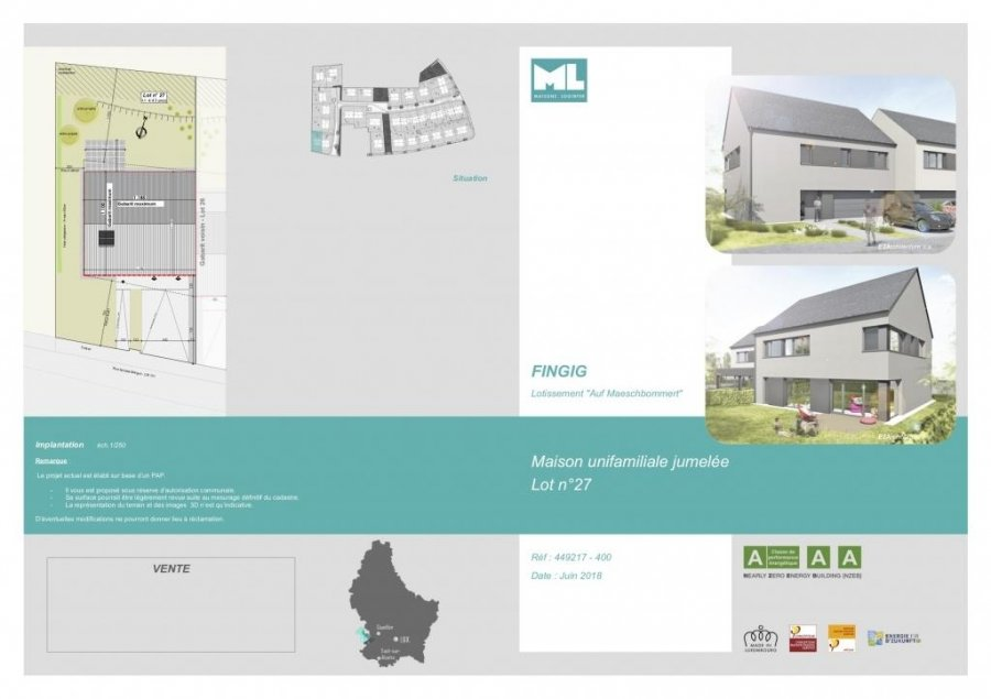 acheter maison individuelle 4 chambres 172 m² fingig photo 3