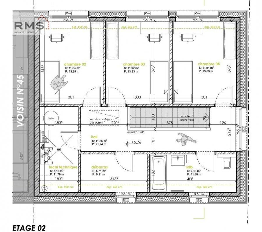 acheter maison 4 chambres 198 m² bertrange photo 5