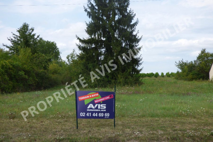 acheter terrain constructible 0 pièce 1357 m² chemellier photo 2