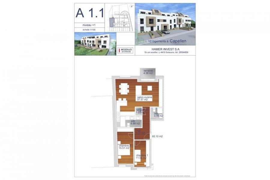 acheter appartement 2 chambres 85 m² capellen photo 5