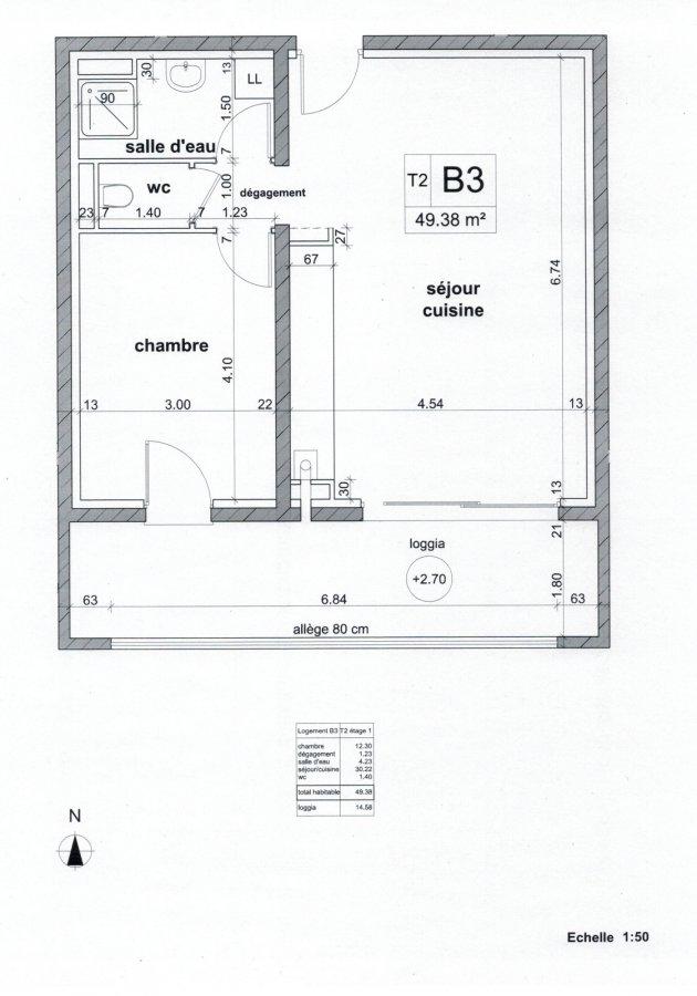 acheter appartement 2 pièces 49.38 m² rombas photo 2