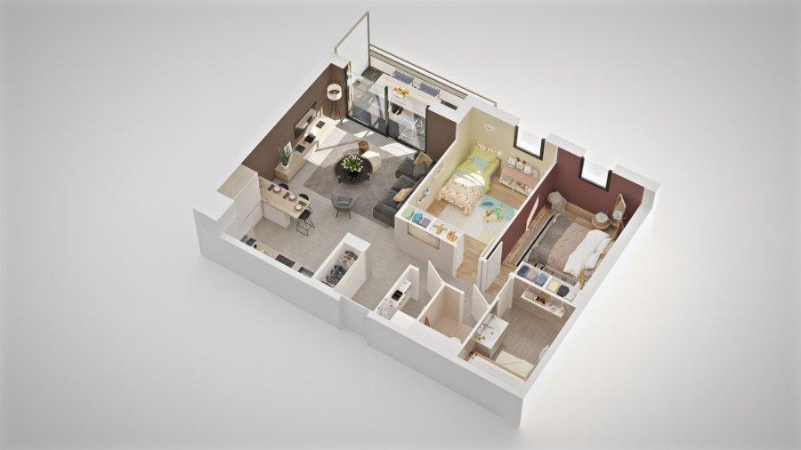 acheter appartement 3 pièces 68.6 m² thionville photo 2