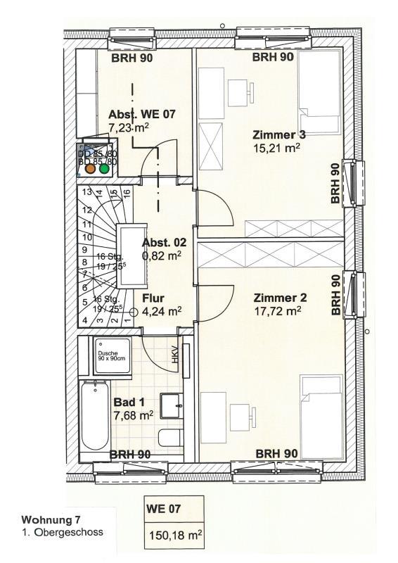 acheter duplex 5 pièces 147.19 m² trier photo 5
