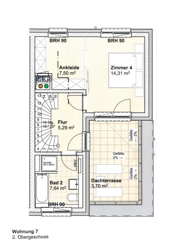 acheter duplex 5 pièces 147.19 m² trier photo 6