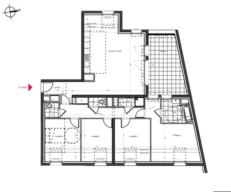 acheter appartement 5 pièces 111 m² nancy photo 2