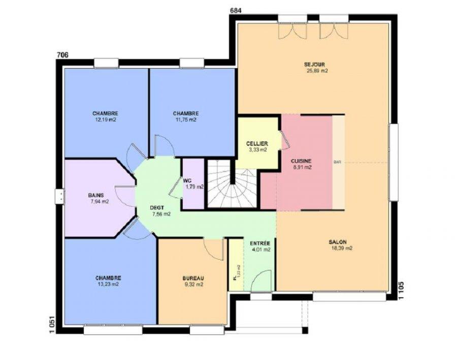 acheter maison 6 pièces 126 m² mécleuves photo 4