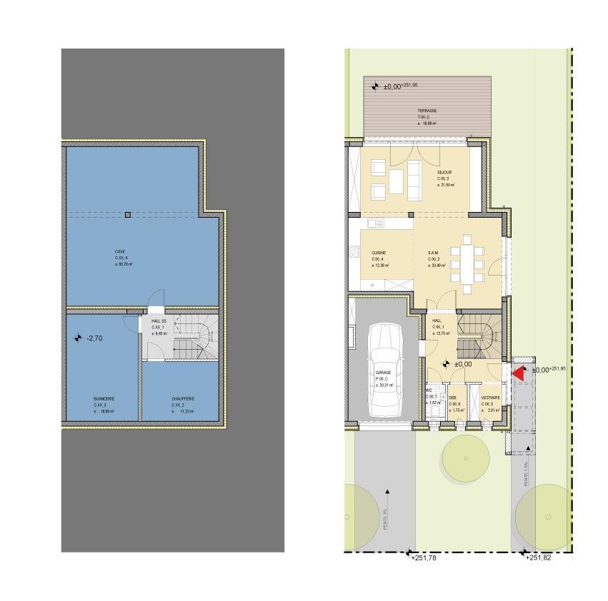 doppelhaushälfte kaufen 4 schlafzimmer 206 m² niederanven foto 3
