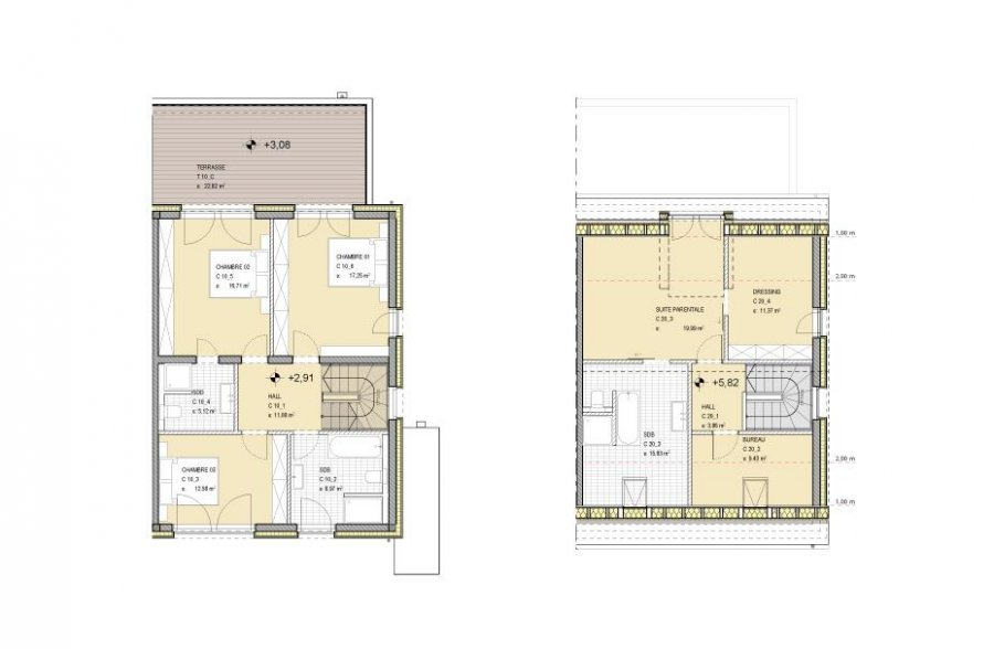 doppelhaushälfte kaufen 4 schlafzimmer 206 m² niederanven foto 4