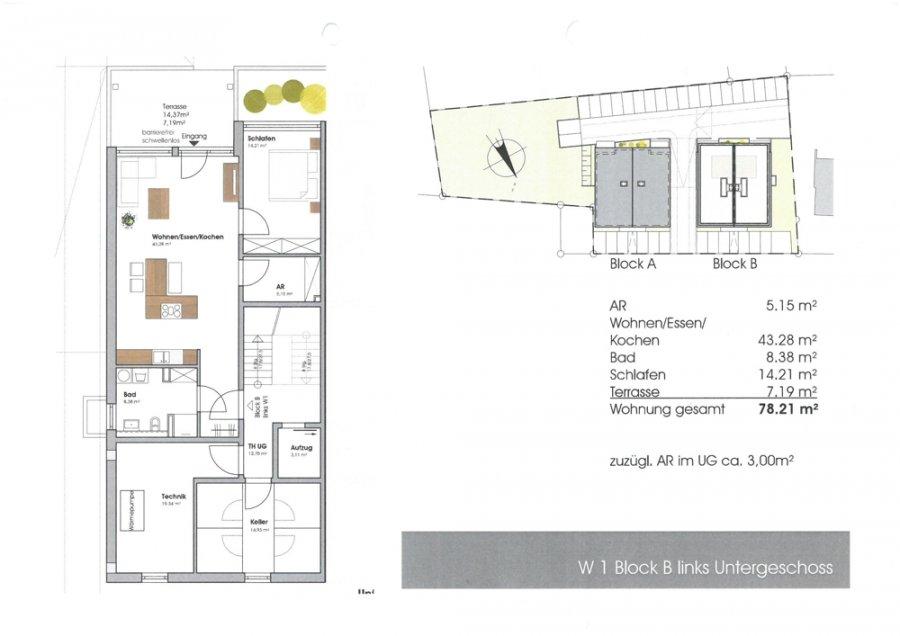 wohnung kaufen 2 zimmer 81.21 m² perl foto 4