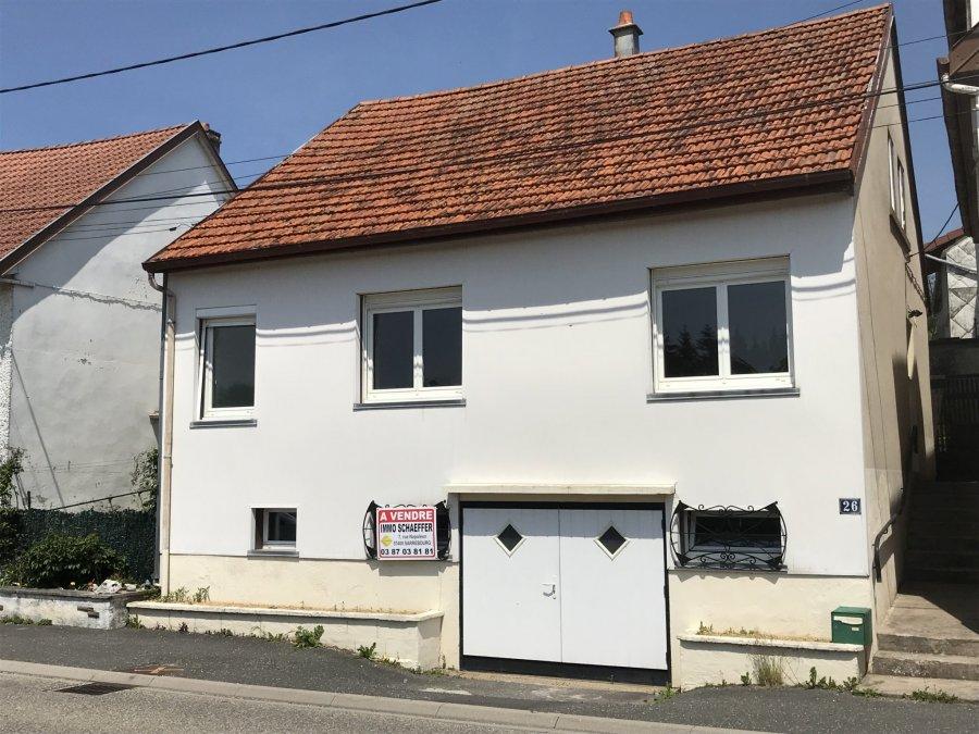 Maison à vendre F5 à Hartzviller