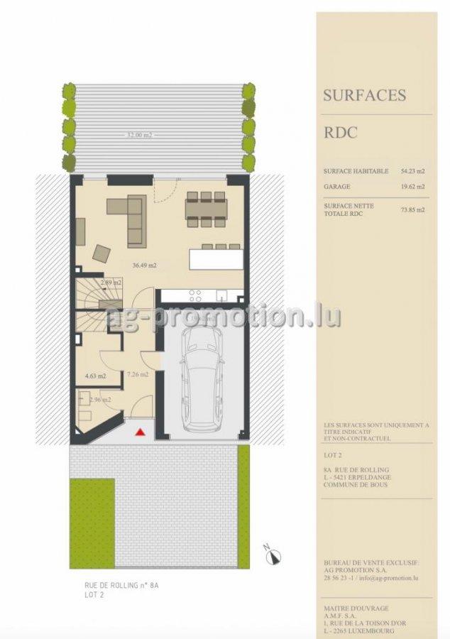 detached house for buy 4 bedrooms 182.7 m² erpeldange (bous) photo 2
