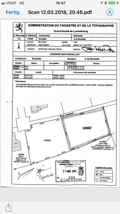 acheter terrain constructible 0 chambre 0 m² boulaide photo 2