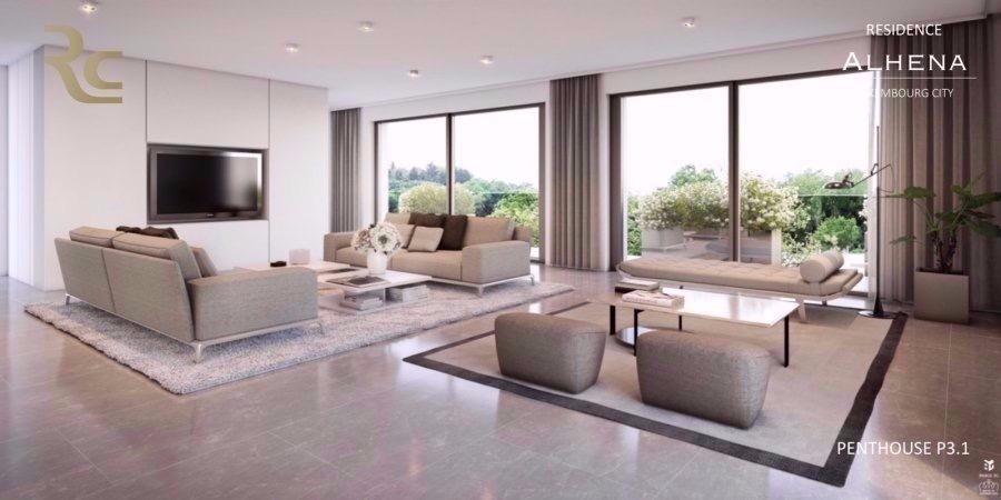 penthouse-wohnung kaufen 3 schlafzimmer 180.92 m² luxembourg foto 1