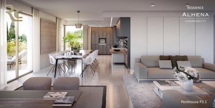 penthouse-wohnung kaufen 3 schlafzimmer 180.92 m² luxembourg foto 3