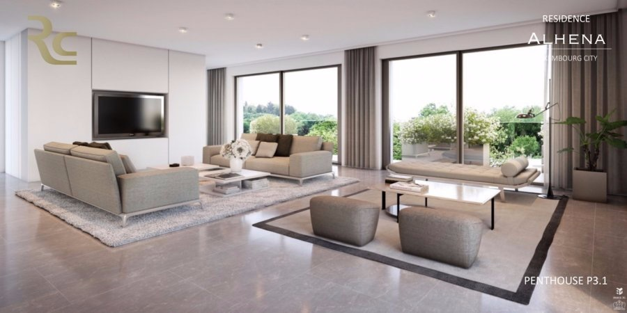 acheter penthouse 4 chambres 166.95 m² luxembourg photo 1
